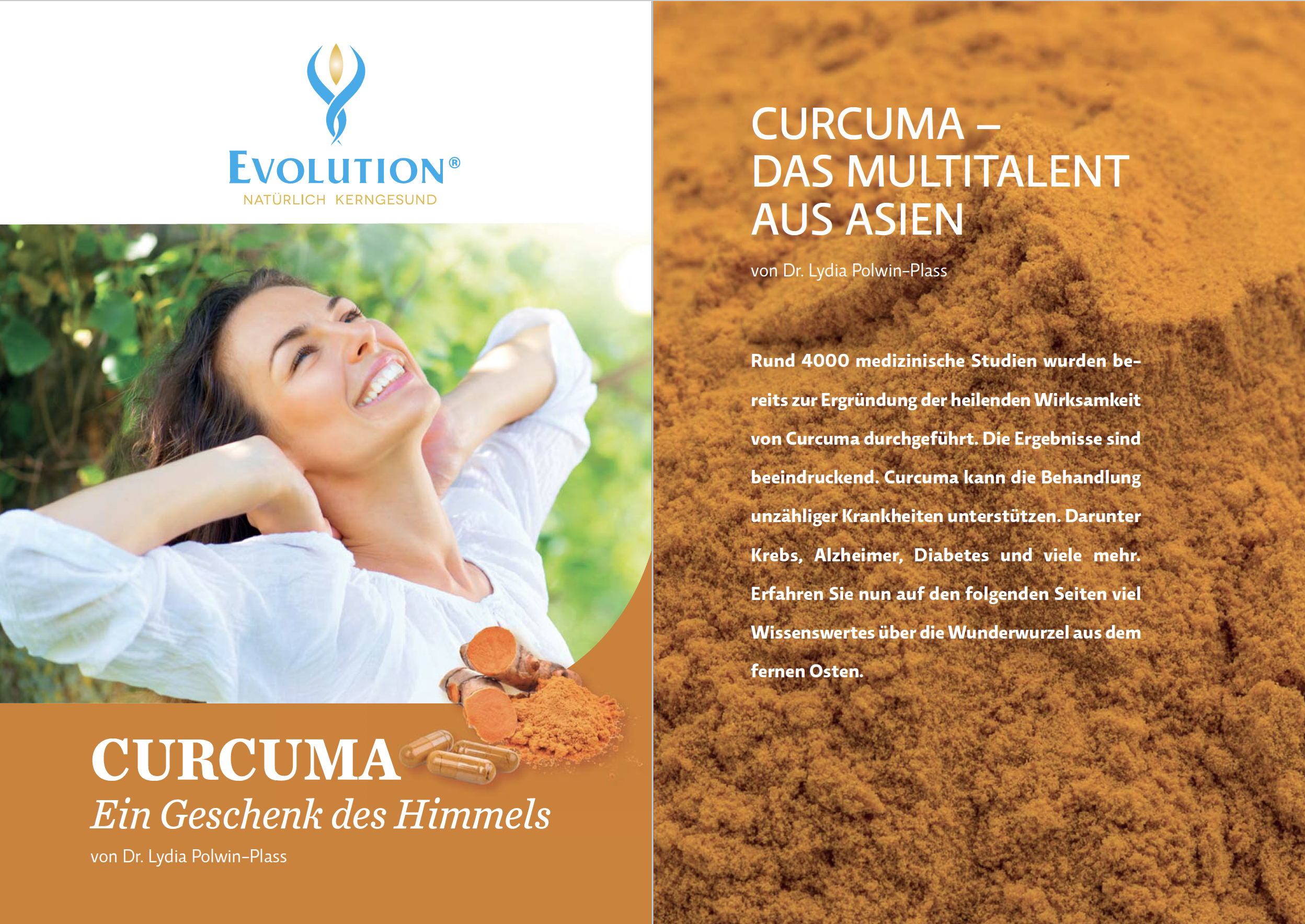 Curcuma Broschuere Dr. Lydia Polwin-Plass
